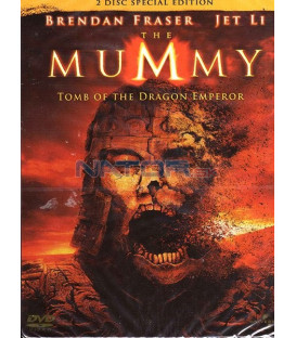 Mumie: Hrob dračího císaře 2 DVD Steelbook (Mummy: Tomb of the Dragon Emperor, The)