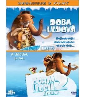 Doba ledová / Doba ledová 2 - Obleva 2DVD (Ice Age/ Ice Age: The Meltdown)
