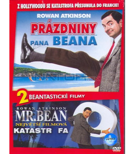 Prázdniny pana Beana/Bean Velká filmová katastrofa-2 DVD ( Mr. Beans Holiday/Bean Ultimate Disas)
