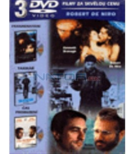 Robert De Niro Kolekce 3 DVD-Frankenstein / Taxikář / Čas probuzení