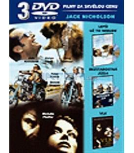 JacK Nicholson kolekce 3DVD-Lepší už to nebude, Vlk, Bezstarostná jízda