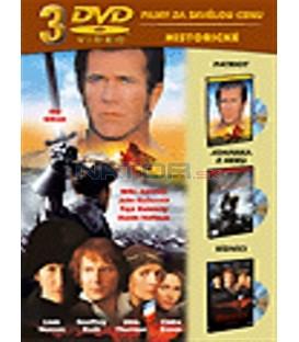 Kolekce: Patriot / Johanka z Arku / Bídníci 3 DVD