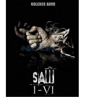 DVD Kolekcia Saw (1 až 6) 6 DVD (Saw)