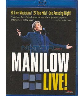 Barry Manilow- Manilow Live! /DTS/ BLU-RAY