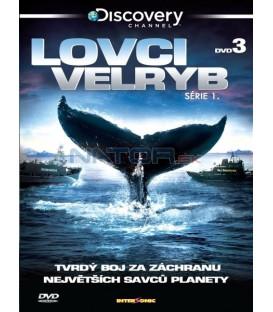 Lovci velryb - DVD 3 (Whale Wars, Season 1)