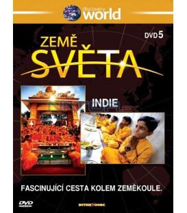 Země světa 5 - Indie (Discovery Atlas) DVD