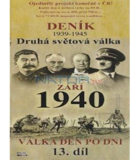 Deník - Druhá světová válka (13. díl) - září 1940 (Second World War Diary (1939-1945) DVD