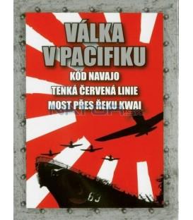 Kolekce Válka v Pacifiku 3 DVD-Kód Navajo + Most přes řeku Kwai + Tenká červená linie
