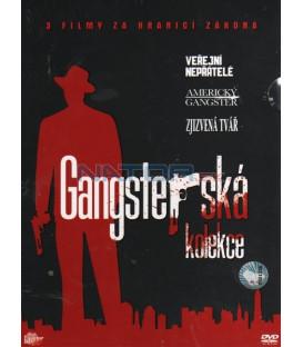 Gangsterská kolekce 3 DVD-Veřejní nepřátelé / Americký Gangster / Zjizvená tvář