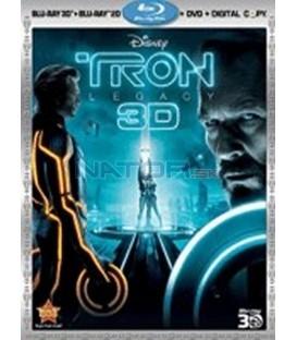 TRON: Legacy 2D Blu-ray + 3D Blu-ray (Tron: Legacy)