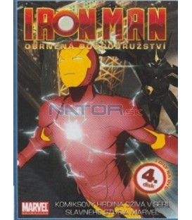 Iron Man - Obrněná dobrodružství - 4. disk (Iron Man: Armored Adventures)