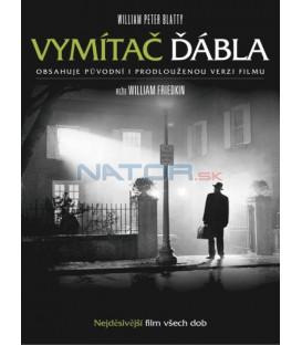 Vymítač ďábla CZ dabing - 2 DVD - původní a prodloužená verze (Exorcist, The)
