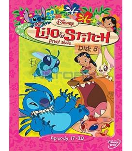 Lilo a Stitch  1. série - disk 5  (Lilo & Stitch  Season 1 - Disc 5)