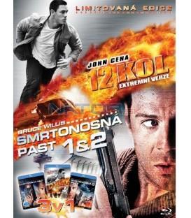 12 kol + Smrtonosná past + Smrtonosná past 2-Kolekce 3 Blu-ray
