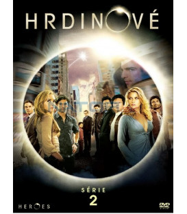 Hrdinové, 2. sezóna 3DVD (Heroes Season 2 Complete)