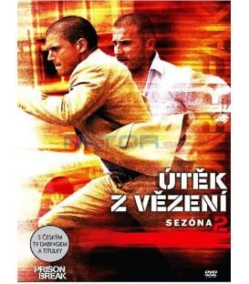 Prison Break: Útěk z vězení, 2. sezóna 6DVD (Prison Break: Season 2)