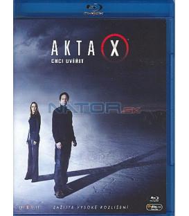 Akta X: Chci uvěřit-BLU-RAY (The X-Files: I Want to Believe)