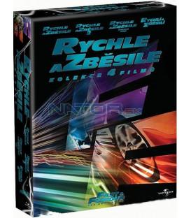 Rychle a zběsile Kolekce 4BRD- BLU-RAY (Fast & Furious Collection)