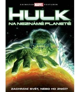 Hulk na neznámé planetě DVD