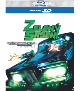 Zelený sršeň (The Green Hornet) 3D/2D - Blu-ray