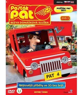 Pošťák Pat - Bezva donášková služba 3 DVD