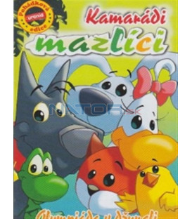Kamarádi mazlíci - Olympiáda v džungli (Pet Pals) DVD