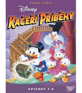 Kačeří příběhy 1.série - disk 2 (Ducktales Season 1 : Vol. 1 - Disc 2) - SK/CZ dabing
