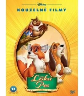 Liška a pes S.E. - Disney Kouzelné filmy č.25 (The Fox and the Hound )