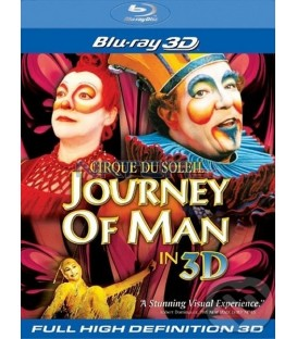Cirque du Soleil: Journey of Man 3D - Blu-ray