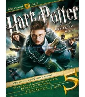 Harry Potter a Fénixov rád - zberateľská edícia (3 DVD) (Harry Potter and The Order of Phoenix CE)