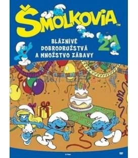 Šmoulové 21. - Bláznivé dobrodružstvá a množstvo zábavy! SK/CZ dabing