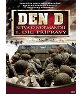 Den D: Bitva o Normandii – 1. DVD – SLIM BOX (D-Day)