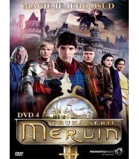 Merlin série 2 dvd 4  ( The Adventures of Merlin )