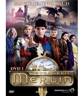 Merlin série 2 dvd 1 (  The Adventures of Merlin )