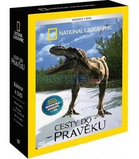 Kolekce Cesty do pravěku 4DVD (Prehistoric monsters collection)