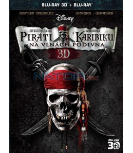 Piráti z Karibiku: Na vlnách podivna 2BD (3D+2D)  - Blu-ray (Pirates of the Caribbean: On Stranger Tides)