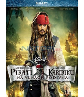 Piráti z Karibiku 4: Na vlnách podivna Blu-ray (Pirates of the Caribbean: On Stranger Tides)