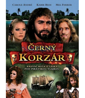 Čierny Korzár (Il corsaro nero) DVD
