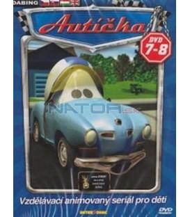 Autíčka DVD 7 - 8 (Auto B-Good) 2XDVD