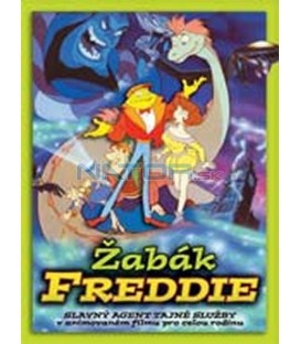 Žabák Freddie – SLIM BOX (Freddie the Frog) DVD
