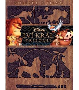 Kolekce: Lví král 1-3 3 DVD SK/CZ dabing (The Lion King)
