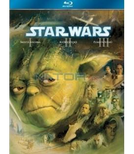Kolekce: Star Wars Trilogie 1-3 3 Blu-ray - SK/CZ dabing