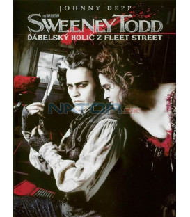 Sweeney Todd: Ďábelský holič z Fleet Street 1DVD (Sweeney Todd: The Demon Barber of Fleet Street)