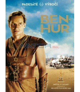 Ben Hur: Výroční edice (Ben Hur: 50th Anniversary) 2DVD - CZ dabing