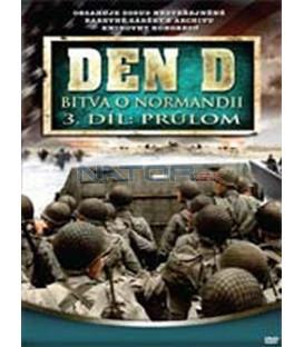 Den D: Bitva o Normandii – 3. DVD – SLIM BOX (D-Day)