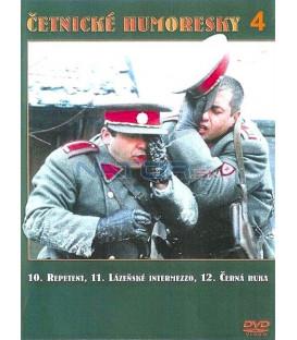 Četnické humoresky 4. DVD - díly 10 až 12
