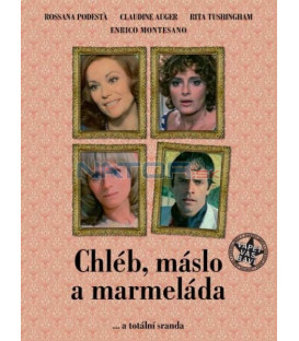 CHLÉB, MÁSLO A MARMELÁDA  (PANE, BURRO E MARMELLATA) DVD