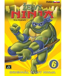 ŽELVY NINJA: 6  (TEENAGE MUTANT NINJA TURTLES) DVD