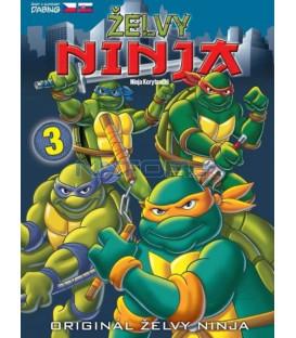 ŽELVY NINJA 3  (TEENAGE MUTANT NINJA TURTLES) DVD