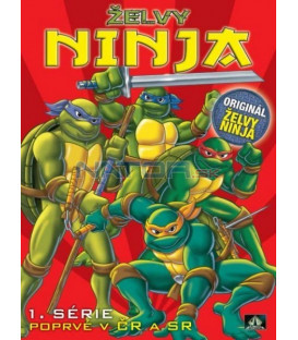 ŽELVY NINJA 1 (Teenage Mutant Ninja Turtles) DVD